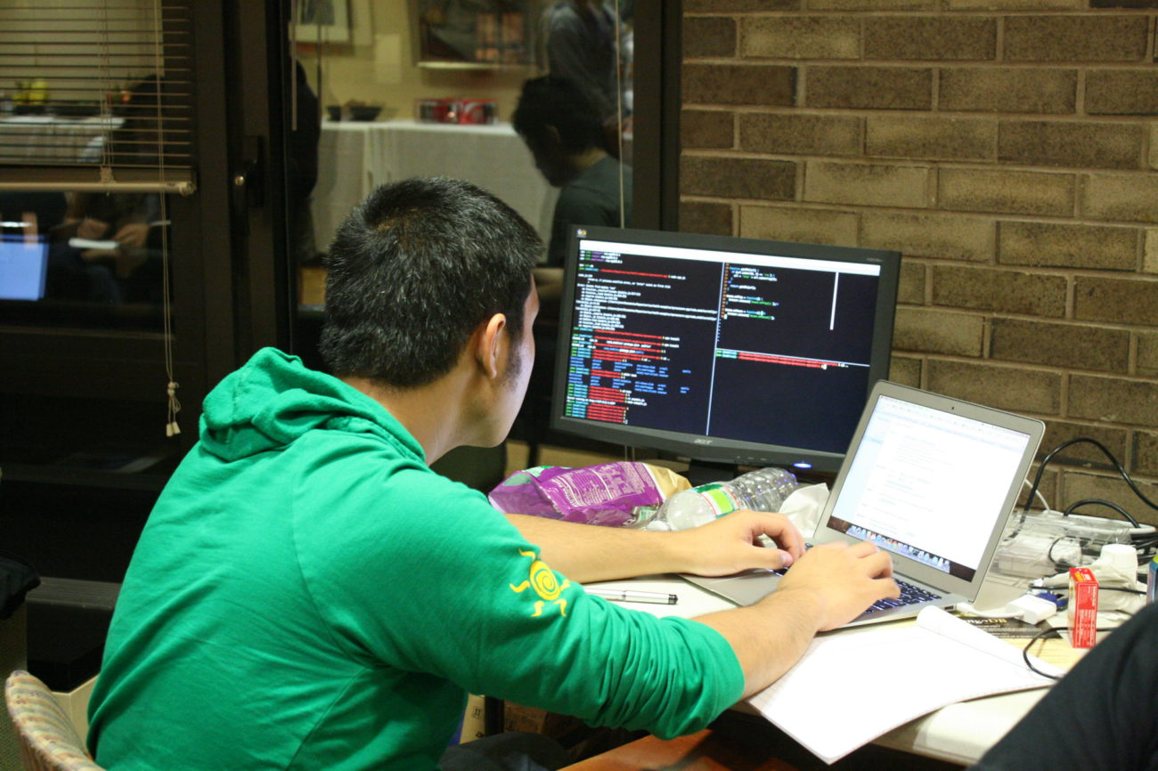"""""""Fall 2011 Student Hackathon Coding"""" by hackNY is licensed under CC BY-SA 2.0"""