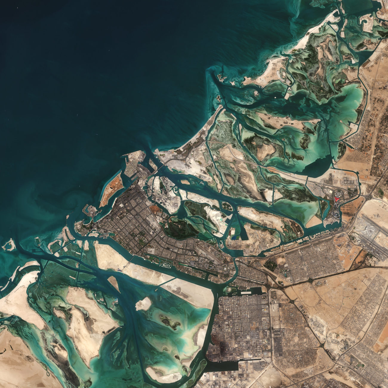 """Abu Dhabi"" by europeanspaceagency is licensed under CC BY-SA 2.0"